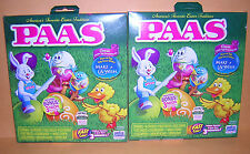 TWO (2): CLASSIC EASTER EGG DYE DECORATING KITS; 9 Color Tablets  96 Stickerss