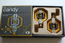 Crank Brothers Candy 11 Pedalsatz gold  MTB Klickpedale