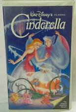 CINDERELLA  WALT DISNEY 1995 VHS CLASSIC   BLACK DIAMOND Clamshell Case
