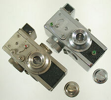 Riken steky nickel made in tokyo japon stekinar Anastigmat 16mm MINIATURE CAMERA