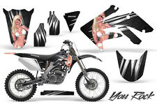 HONDA CRF 250 R 04-09 GRAPHICS KIT CREATORX DECALS STICKERS YRB