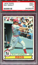 1979 Topps Ray Knight—Reds #401 PSA 9 Mint
