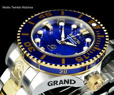 Invicta 47mm Grand Diver 2 Gen II Automatic Blue Dial Bezel Bracelet Watch