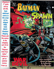 BATMAN SPAWN WAR DEVIL #1 PRESTIGE COMIC UNREAD #32157 BR2
