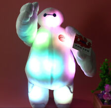 13''  Disney Big Hero 6 Baymax Toy Plush Stuffed Doll With Colorful LED Light