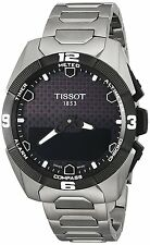 New Tissot T-Touch Expert Solar Titanium Bracelet Mens Watch T0914204405100