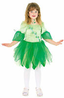 Feen Kleid grün Kinderkostüm Mädchen Elfe schick Fasching Karneval Kostüm NEU