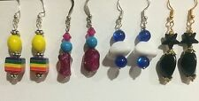homemade earrings for casual wear/ match with your dresses (Nickle free)