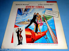 PHILIPPINES:A VIEW TO A KILL Original Movie Soundtrack LP,JOHN BARRY,DURAN DURAN