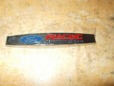 "FORD RACING PERFORMANCE PARTS MUSTANG FENDER TRUNK DECKLID DASH EMBLEM BADGE ""C"""