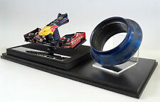 Race Used Wheel Nut & RedBull RB8 nosecone 1:12 scale Amalgam, Webber Vettel F1