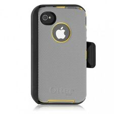 original OtterBox Defender Series Case & Clip for Apple iPhone 4S - Gray/Yellow