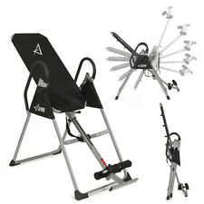 Deluxe Inversion Table Fitness Chiropractic Table Back Pain Relief Exercise New