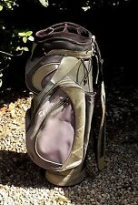 Large TaylorMade Tour Trolley Cart Carry Golf Clubs Bag