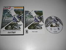 FSCENE X Pc DVD Rom Add-On Expansion Flight Simulator Sim X & 2004 FSX & FS2004