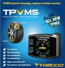 New TPVMS TD1800A-X Tyredog Tyre Pressure Monitor System Fast USPS Priority Ship