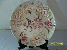 Vintage Zsolnay Hungarian Hand Painted Porcelain Plate