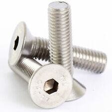 M5 x 10 STAINLESS COUNTERSUNK CSK ALLEN BOLT SOCKET SCREWS 20 PACK