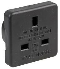Pro Elec - 1518C BLK - Travel Adaptor Uk To Us Black