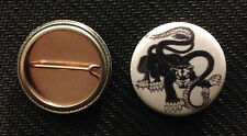 """AD&D Displacer Beast 1"""" pin button - 1st Edition Trampier  Dungeons & Dragons"""