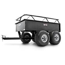 Agri-Fab 1000 LB ATV/UTV Steel Tandem Axle Dump Cart