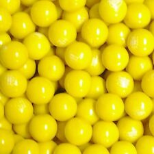 "Dubble Bubble / Concord Yellow Banana Flavored 1"" Gumballs  2  Lbs"