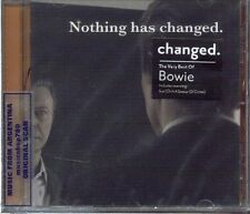 DAVID BOWIE NOTHING HAS CHANGED VERY BEST OF BOWIE GREATEST HITS SEALED CD 2014