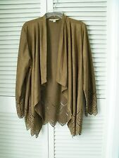 . Krazy Kat   Elegant Brown Color  Women's Size  XL Jacket