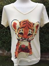 Butler & Wilson womens vintage authentic v neck Neck christmas pressie L next