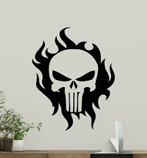 Punisher Skull Wall Decal Art Superhero Poster Vinyl Stickers Decor Mural 145zzz