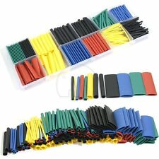 280pcs Assortment Ratio 2:1 Heat Shrink Tubing Tube Sleeving Wrap Kit w/ Box