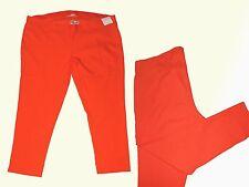 Damen Stretchhose Hose Damenhose Gr. 46 XL  orange NEU