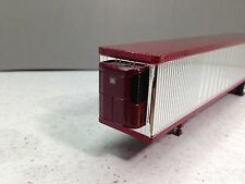 HO 1/87 TNS # 162 - 53' Reefer Trailer Split Axle - Chrome w/Crimson Trim