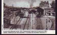 1976  --  EN GARE DE LIBOURNE AVANT 1914   T605