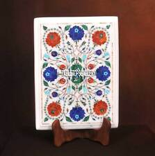 12''x9'' Fine Pietra Dure Marble Coffee Table Top Inlaid Stone Room Decor H3739