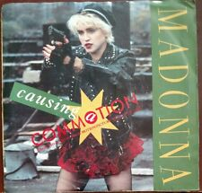 MADONNA FROM WHO'S THAT GIRL/CAUSING A COMMOTION 45 RPM PICTURE SLEEVE USED 1986
