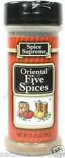 Spice Supreme® ORIENTAL (5) FIVE SPICE new & fresh USA MADE seasoning spices