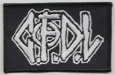 C.F.D.L. cfdl logo patch gloom outo systematic death lipcream gauze confuse SDS