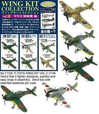 F-Toys Wing Kit Vol.2. 1/144 scale painted WW2 military Plane plastic models