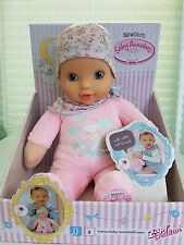 My First Baby Annabell Newborn Girl 1st Soft DOLL from Birth up - Zapf Creation