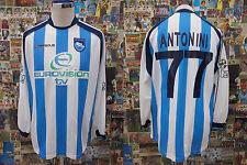 maglia calcio shirt maillot camiseta trikot PESCARA ANTONINI MATCH WORN