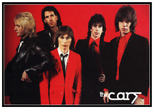 The Cars *POSTER* Ric Ocasek Elliot Easton Greg Hawkes NEW WAVE - MUST SEE Photo