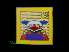 TOY STORY - CHUCKLES the CLOWN on Toy Block Disney 2014 PIN