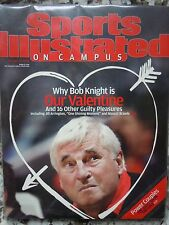 Indiana Hoosiers Bobby Knight Sports Illustrated On Campus 2004 No Label