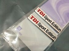 2 X TDI Sport Edition Badge Emblem Logo Sticker