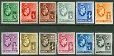 SG 110-121 Virgin Islands 1948 set of 12 values. ½d-£1. Fine lightly M/M...
