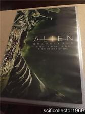 Alien Quadrilogy (DVD, 2014) Brand New 2014 Set!!!
