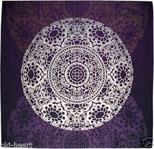 """Table Cloth Japanese Wrapping Fabric Oriental Asian 46x46""""(118x118cm) Cotton #16"""