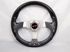 "Boat Steering wheel W/ Adapter 3 spoke boats with a 3/4"" tapered key Marine"