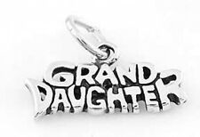 925 STERLING SILVER GRAND DAUGHTER CHARM/PENDANT